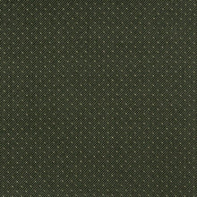 Load image into Gallery viewer, Essentials Heavy Duty Mid Century Modern Scotchgard Forest Green Dot Upholstery Fabric / Moss