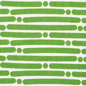 SCHUMACHER DOT DASH FABRIC / GREEN