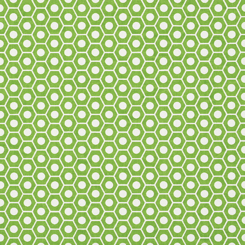 SCHUMACHER QUEEN B FABRIC / GREEN