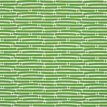 Load image into Gallery viewer, SCHUMACHER DOT DASH FABRIC / GREEN