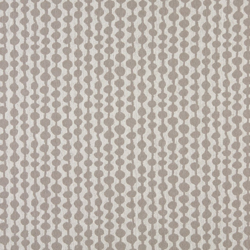 Essentials Heavy Duty Upholstery Geometric Fabric / Beige White