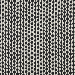 Essentials Heavy Duty Upholstery Geometric Fabric / Black White