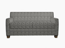 Load image into Gallery viewer, Essentials Heavy Duty Upholstery Geometric Fabric / Black White