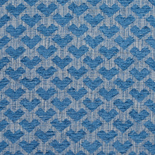 Load image into Gallery viewer, Essentials Heavy Duty Upholstery Drapery Geometric Fabric / Blue