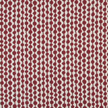 Load image into Gallery viewer, Essentials Heavy Duty Upholstery Geometric Fabric / Burgundy White