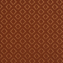 Load image into Gallery viewer, Essentials Upholstery Drapery Geometric Diamond Fabric / Brown