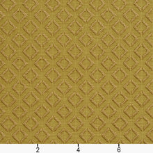 Load image into Gallery viewer, Essentials Upholstery Drapery Geometric Diamond Fabric / Olive