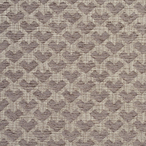 Essentials Heavy Duty Upholstery Drapery Geometric Fabric / Light Gray