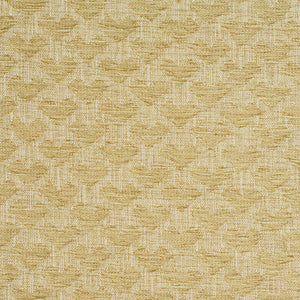 Essentials Heavy Duty Upholstery Drapery Geometric Fabric / Lime