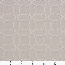 Load image into Gallery viewer, Essentials Upholstery Drapery Geometric Trellis Fabric / Gray