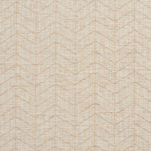 Load image into Gallery viewer, Essentials Heavy Duty Upholstery Drapery Geometric Zig Zag Chevron Fabric / Beige