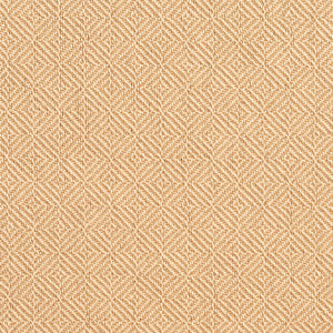 Essentials Crypton Gold Beige Geometric Diamond Upholstery Fabric / Gold