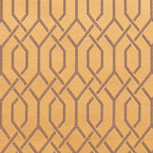 Load image into Gallery viewer, Essentials Heavy Duty Upholstery Drapery Fabric / Gold Lattice