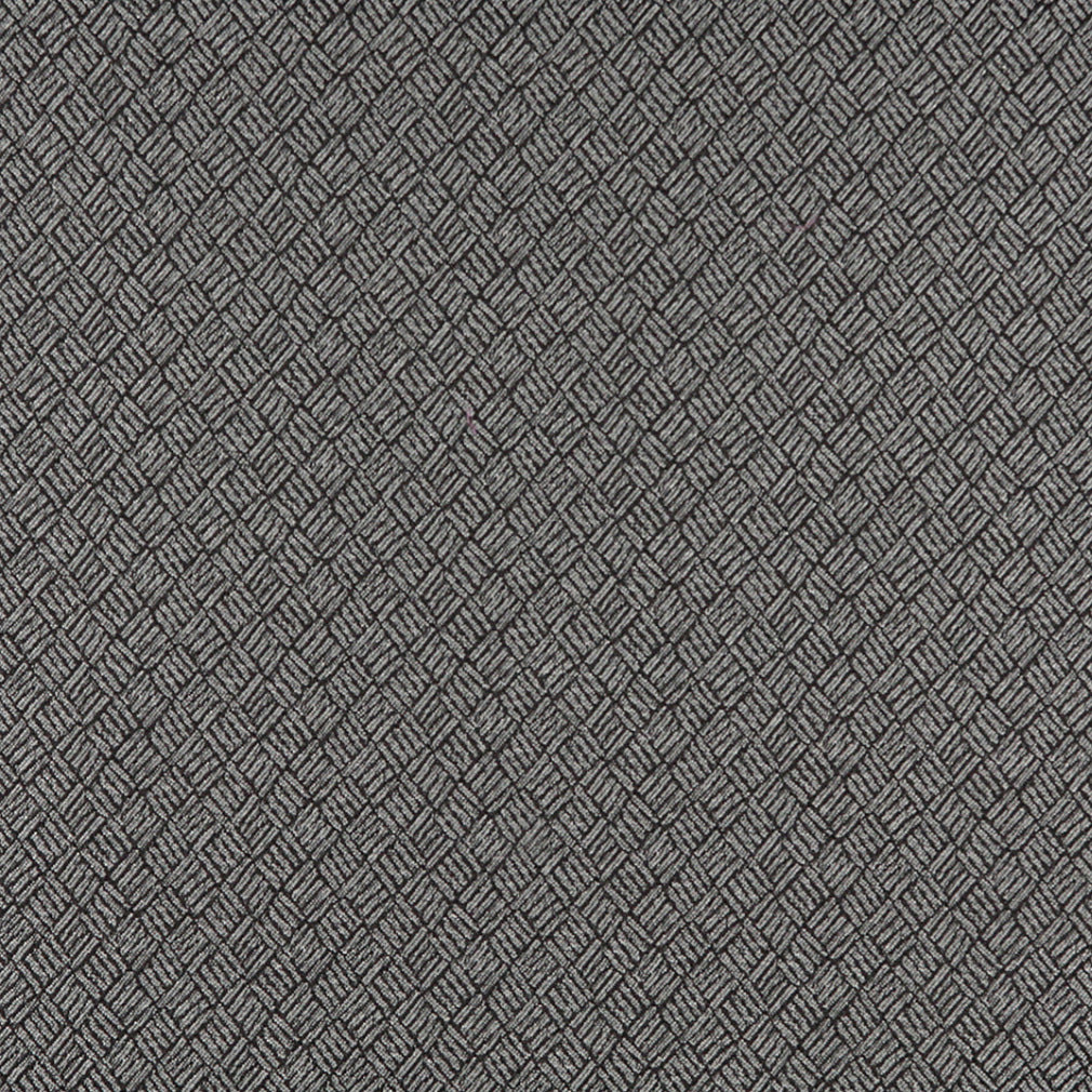 Essentials Heavy Duty Mid Century Modern Scotchgard Upholstery Fabric Gray Abstract / Platinum