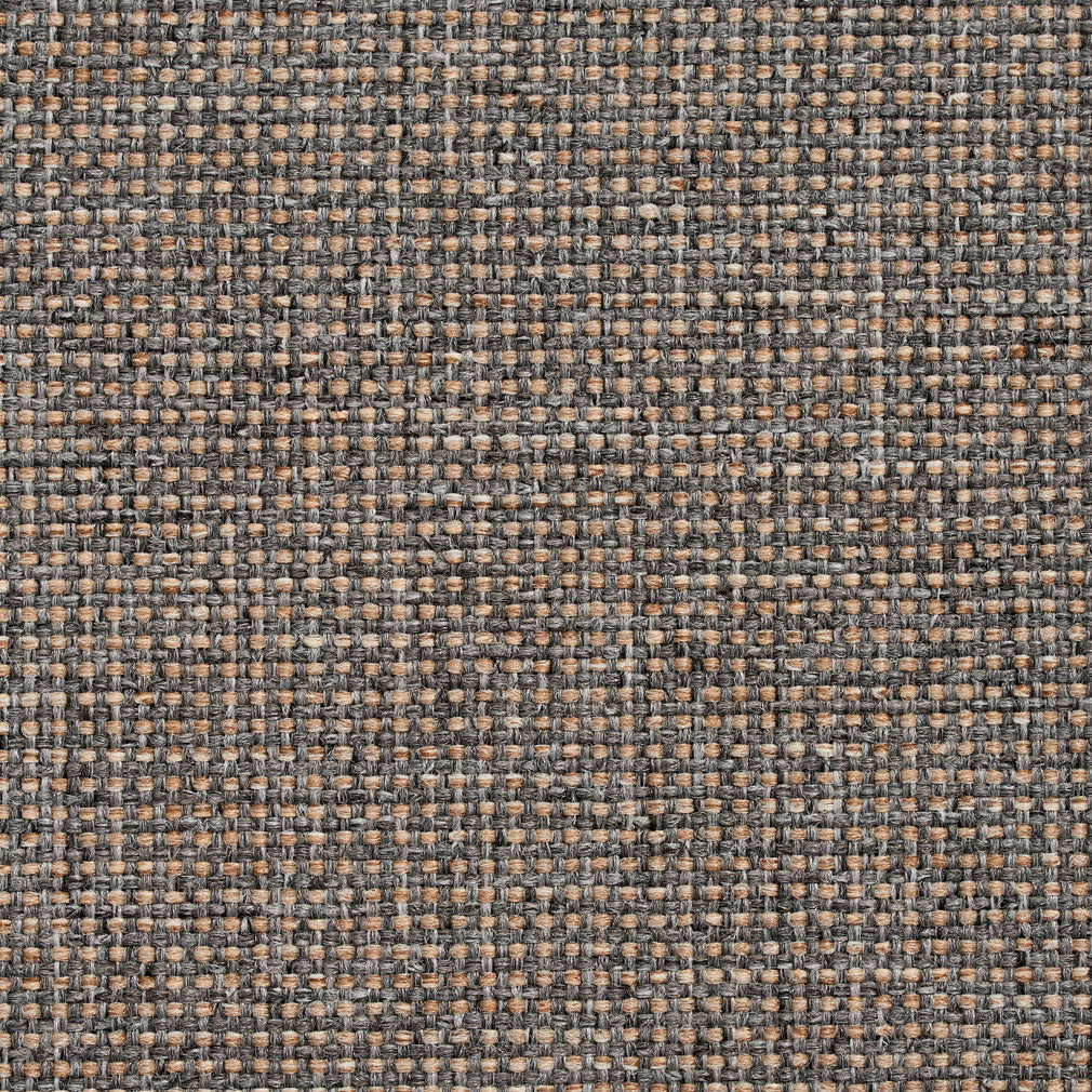 Essentials Heavy Duty Mid Century Modern Scotchgard Gray Beige Upholstery Fabric / Pebble