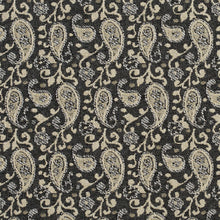 Load image into Gallery viewer, Essentials Gray Beige White Upholstery Fabric / Sterling Paisley