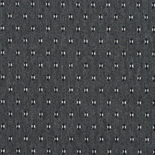 Load image into Gallery viewer, Essentials Gray Black White Upholstery Fabric / Sterling Dot