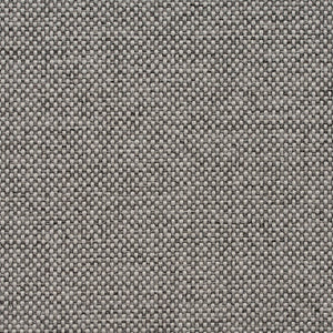 Essentials Heavy Duty Mid Century Modern Scotchgard Gray Upholstery Fabric / Charcoal