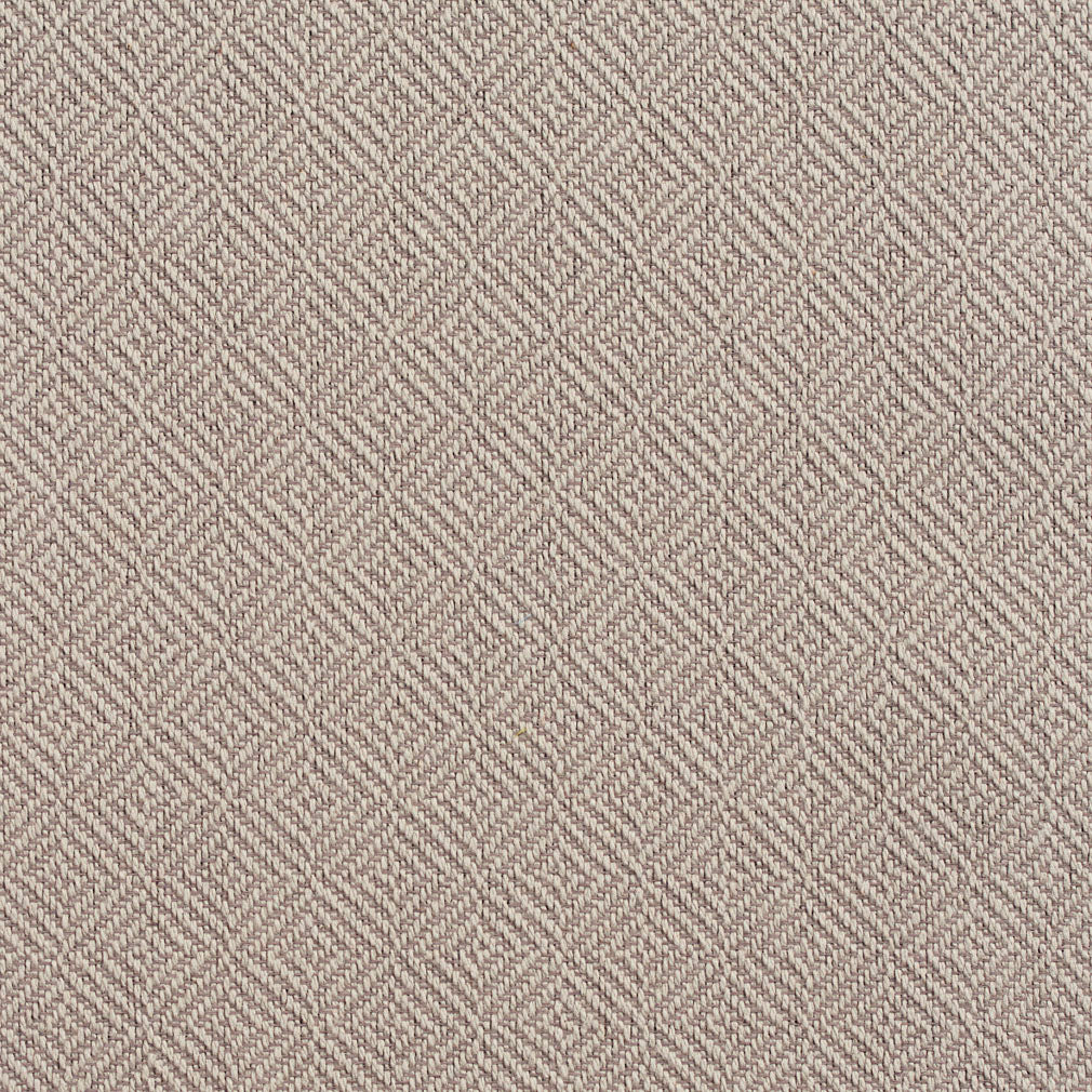 Essentials Crypton Gray Cream Geometric Diamond Upholstery Fabric / Gray