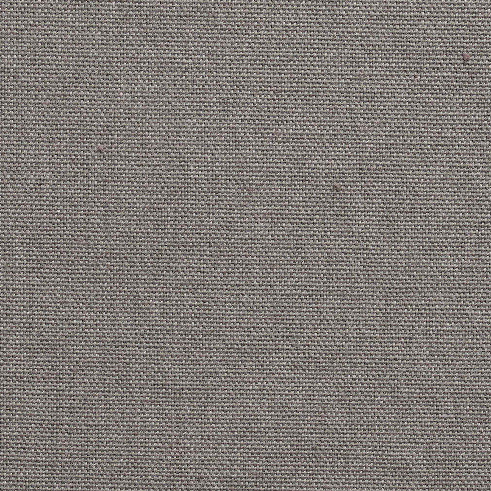 Essentials Cotton Duck Gray Upholstery Drapery Fabric / Pewter
