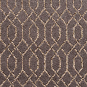 Essentials Heavy Duty Upholstery Drapery Fabric Gray / Pewter Lattice