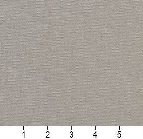 Essentials Cotton Duck Gray Upholstery Drapery Fabric / Sterling