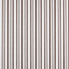 Load image into Gallery viewer, Essentials Outdoor Gray Taupe White Classic Stripe Upholstery Fabric