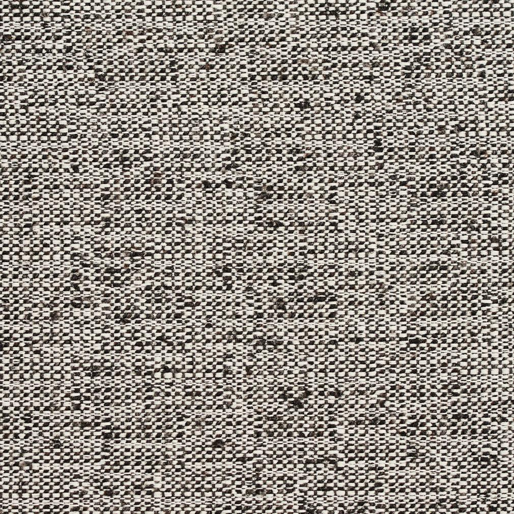 Essentials Heavy Duty Upholstery Drapery Fabric /Gray White