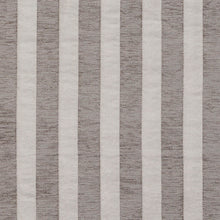 Load image into Gallery viewer, Essentials Chenille Gray White Stripe Upholstery Fabric