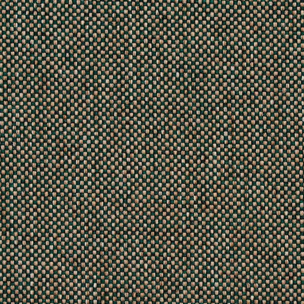 Essentials Heavy Duty Mid Century Modern Scotchgard Green Beige Upholstery Fabric / Ivy