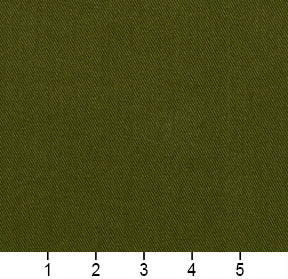 Essentials Cotton Twill Green Upholstery Fabric / Fern
