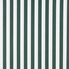 Load image into Gallery viewer, Essentials Outdoor Green White Forest Canopy Stripe Upholstery Fabric