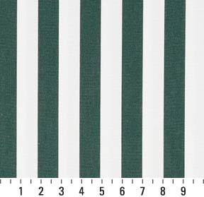 Essentials Outdoor Green White Forest Canopy Stripe Upholstery Fabric