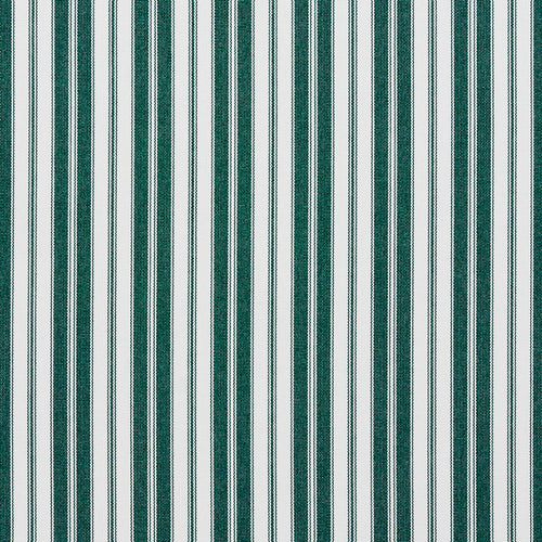 Essentials Outdoor Green Forest Classic Stripe Upholstery Fabric
