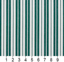 Load image into Gallery viewer, Essentials Outdoor Green White Forest Classic Stripe Upholstery Fabric