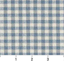 Load image into Gallery viewer, Essentials Green White Checkered Upholstery Fabric