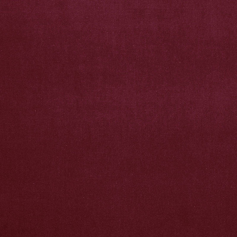 SCHUMACHER GAINSBOROUGH VELVET FABRIC / HOLLYBERRY