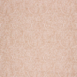 Woven Damask Upholstery Drapery Fabric Mustard Gold Ivory / Honey
