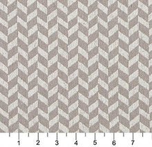 Load image into Gallery viewer, Essentials Heavy Duty Upholstery Herringbone Fabric / Beige White