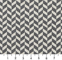 Load image into Gallery viewer, Essentials Heavy Duty Upholstery Herringbone Fabric / Gray White