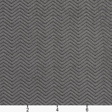 Load image into Gallery viewer, Essentials Heavy Duty Herringbone Upholstery Drapery Velvet / Grey