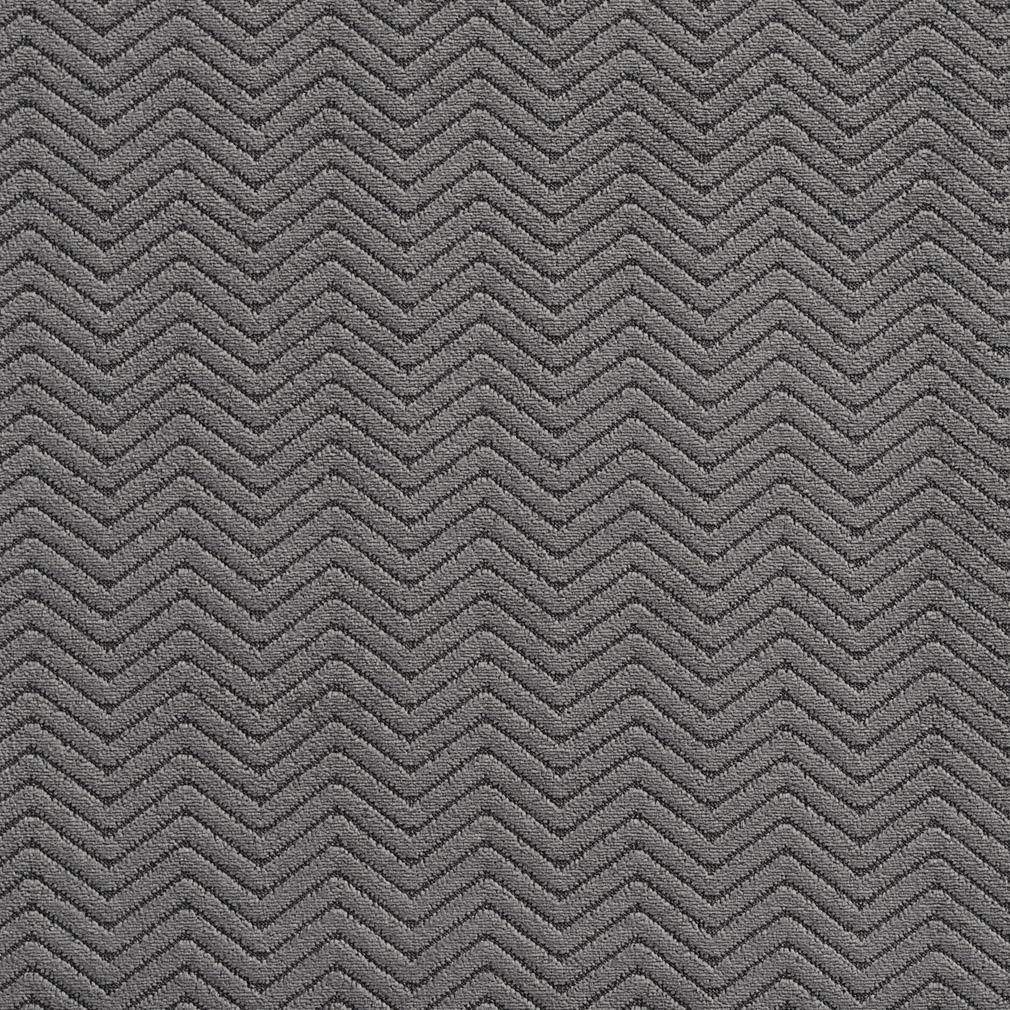 Essentials Heavy Duty Herringbone Upholstery Drapery Velvet / Grey