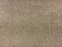 Load image into Gallery viewer, Architex Ultraposh Water & Stain Resistant Heavy Duty Fade Resistant Taupe Brown Textured Faux Leather MCM Mid Century Modern Suede Upholstery Fabric