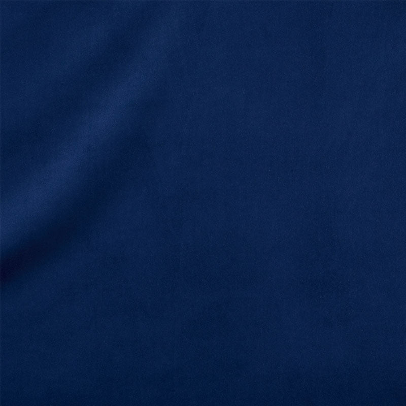 SCHUMACHER ALISTAIR INDOOR/OUTDOOR VELVET FABRIC / INDIGO