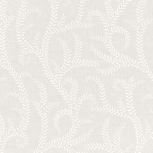 SCHUMACHER BOBOLI EMBROIDERY FABRIC / IVORY