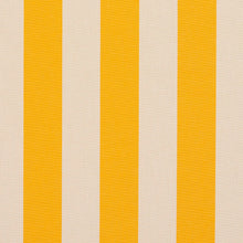 Load image into Gallery viewer, Essentials Outdoor Yellow Stripe Upholstery Fabric / Marigold