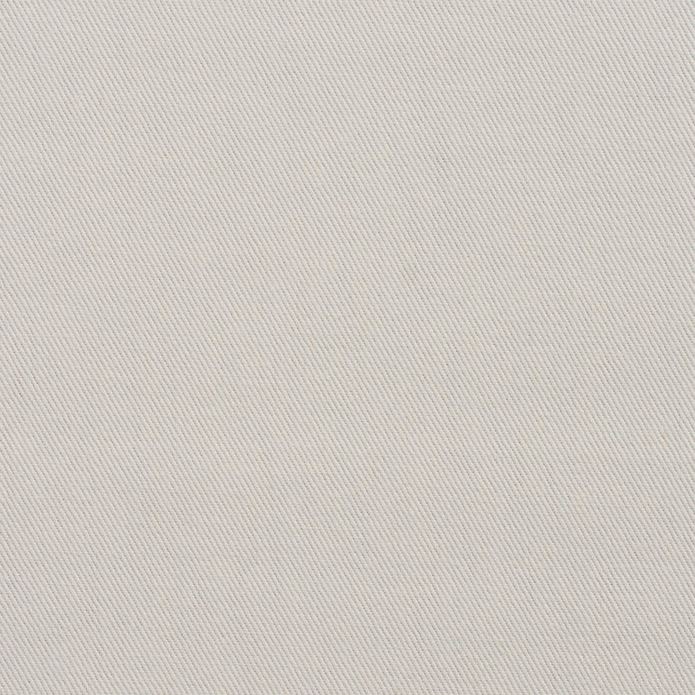 Essentials Cotton Twill Upholstery Fabric / Ivory