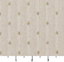 Load image into Gallery viewer, Essentials Ivory Beige Upholstery Fabric / Natural Dot
