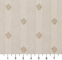 Load image into Gallery viewer, Essentials Ivory Beige Upholstery Fabric / Natural Leaf
