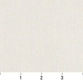 Essentials Cotton Duck Ivory Upholstery Drapery Fabric / Natural